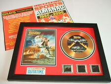 BACK TO THE FUTURE    FILM CELL FRAMED+FREE ALMANAC  new  1
