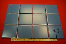 12X Vintage… NOS…Deep Blue…4-3/8 inch wide…matte...ceramic tile by Mosaic Co.
