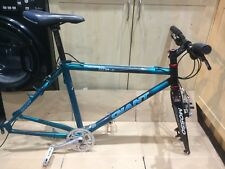 retro giant cadex 90's carbon mountain bike frame + parts
