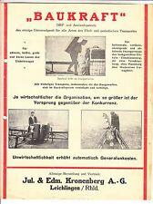 Reklame Blatt Universal - Gerät Landwirtschaft Förderband Kronenberg Leichlingen