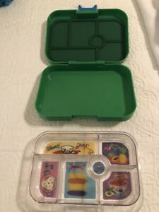 YUMBOX MiniSnack Leakproof Snack Box Ami Green 6 Compartments