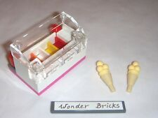 Lego Ice-Cream Shop Freezer 2 Cones 41030 Food Restaurant Cafe Friends