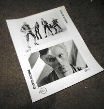DAVID BOWIE Ryko Press Kit 8x10 Photo ONLY Ziggy Stardust Station To Station