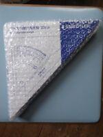 Staedtler gradient triangle ruler (adjustable) Mars 964 51-8 20cm BNWT UK seller