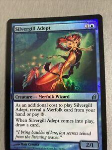 MTG - Silvergill Adept FOIL (LRW)