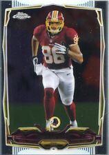 Topps Chrome Football 2014 Veteran Card #4 Jordan Reed - Washington Redskins