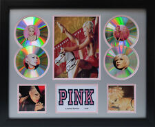 PINK Signed Limited Edition Framed Memorabilia (s)