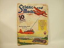 EVERYDAY SCIENCE and MECHANICS ~ Gernsback Pulp Magazine ~ February 1936