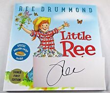 Little Ree Ree Drummond The Pioneer Woman SIGNED 1st ED Children's Book NEW