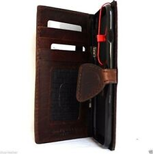 genuine retro full leather Case for apple iphone 7 book wallet cover magnet slim