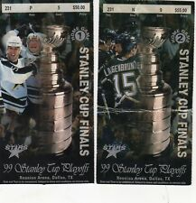 1999 BUFFALO SABRES - DALLAS STARS TICKET STUB STANLEY CUP CHAMPION FINALS RD 4