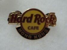 Hard Rock Cafe pin Hong Kong Classic Logo 2005 Second Series