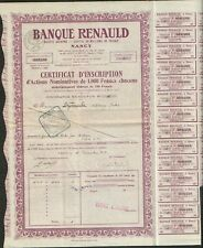 Banque RENAULD (NANCY 54) (H)
