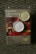 DNG-603PH-DK Lutron Dim and Glo Multicolored 600 watts 3-Way Dimmer Switch 1 pk