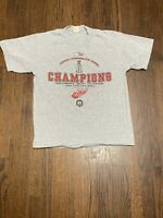 NWT 2002 DETROIT RED WINGS STANLEY CUP CHAMPIONS LOCKER ROOM EDITION T SHIRT LG