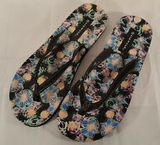 Airwalk flip flop sandals women's size 9 floral
