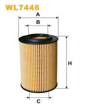 WIX WL7446 Car Oil Filter Eco Cartridge Replaces HU7129x CH10434ECO OX347D