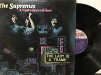 The Supremes ‎– The Supremes Sing Rodgers & Hart LP 1967 Motown ‎– 659 VG/VG