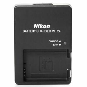 Battery Charger for Nikon MH-24 EN-EL14 P7100 P7000 D5100 D3100 D3200 4 Plugs
