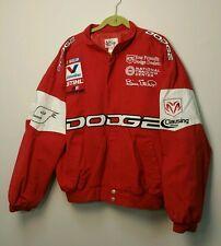 Men's Chase Authentic Dodge Nascar Jacket Red Denim Kasey Kahne #9 Size X-Large