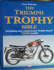 Harry Woolridge THE TRIUMPH TROPHY BIBLE Hardback Veloce 2006 Hardcover