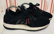 Adidas Women's Pure Boost X Size 6.5 Black Running Sneaker NMD Ultraboost