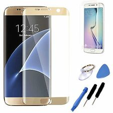 Gold Replacement LCD Screen Glass  Lens Tools For Samsung Galaxy S6 Edge G925