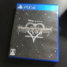 PS4 Kingdom Hearts-Hd 1.5+2.5 Remix 09669 Japonés Ver De Japón