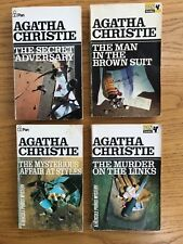 AGATHA CHRISTIE..Vintage 1970s Pan x4 titles