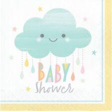 Decoración y menaje servilletas baby shower para mesas de fiesta