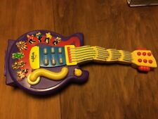 The Wiggles Purple Electronic Guitar Sings And Dances Spin Master