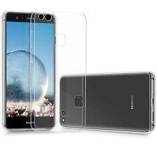UltraSlim Case Huawei P10 Lite Schutz + Panzerglas 9H Hülle Silikon Transparent
