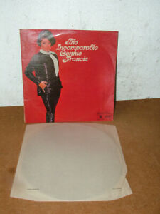 CONNIE FRANCIS - The Incomparable Connie Francis LP Record