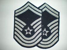USAF PRE-1992 CMSGT  MESS DRESS RANK -FULL SIZE-1 PAIR