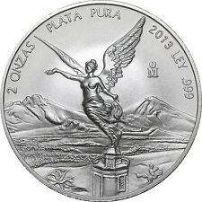 2013 Mexico 2 oz Silver Libertad BU - SKU #74261