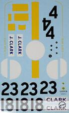 JIM CLARCK DECAL for TAMIYA 1/20 LOTUS 25