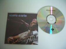 STEVE EARLE CD PROMO LIVE AT MONTREUX 2005.EAGLE RECORDS.