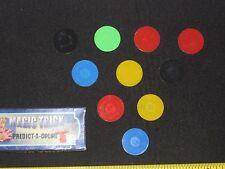 Predict-A-Color Magic Trick - Close-Up, Mental Prediction Magic, Pocket, EASY