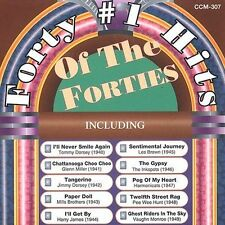 Forty Number One Hits of the Forties by Various Artists (CD, Dec-2004, 2 Discs,