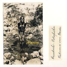 DOA * NACKTE AFRIKANERIN * Vintage 20s Ethnic Nude Photo PC JOSEF STEINLEHNER #2