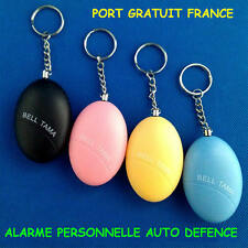 ALARME PERSONNELLE / AUTO DEFENCE / SIRENE ALARME / DEFENCE FEMME HOMME