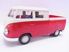 LOT 27621   Welly VW T1 Double Cabin Pick up rot Modellauto mit Antrieb 1:40 Neu
