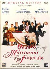 Dvd 4 Quattro Matrimoni e un Funerale - Special ed. Custom Case con libro Usato