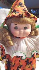 "Goebel Dolly Dingle 1993 Halloween Doll 14"" Musical Porcelain NIB"