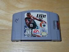 NBA Live 99 (Nintendo 64, 1998) - Video Game Cartridge Only - Used/GC