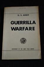 Guerrilla Warfare FM 31-21