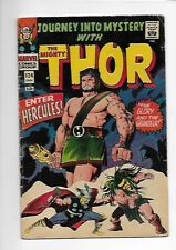 Journey Into Mystery With The Mighty Thor #124 1966 (G+ - VG) 3.5 Hercules