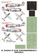 Montex Super Mask 1:32 P-47 D for Revell Kit #1 Spraying Stencil #K32054