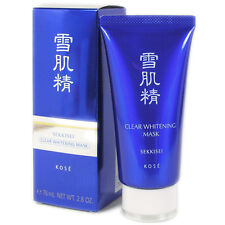 Kose Japan SEKKISEI Clear Whitening Mask (76ml/2.8 oz) - Black Peel-off