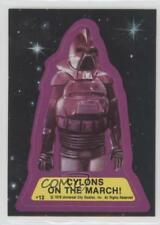 1978 Topps Battlestar Galactica Stickers #12 Cylons On The March! Cylon Card 3c7